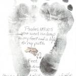 Hadden Clark - Foot Tracing