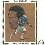 O.J. Simpson enveloppe
