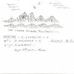 Herbert Mullin: Dessin et calculs mathématiques